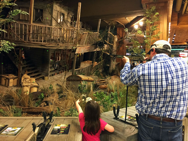 Visit the Bass Pro Shop at the Pyramid in Memphis for a unique family adventure.