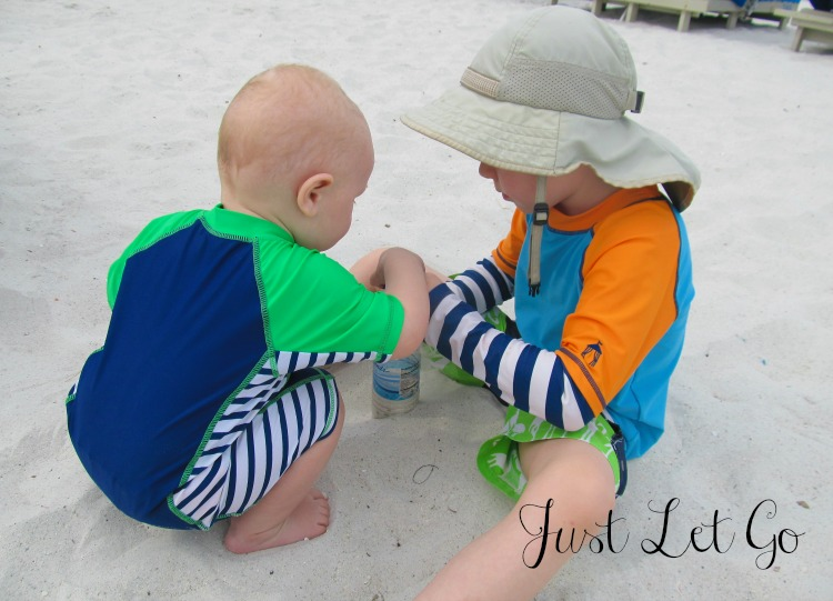 Kids love digging into the sand at The TradeWinds Island Grand Resort at St. Pete Beach in the heart of Florida's Sun Coast.