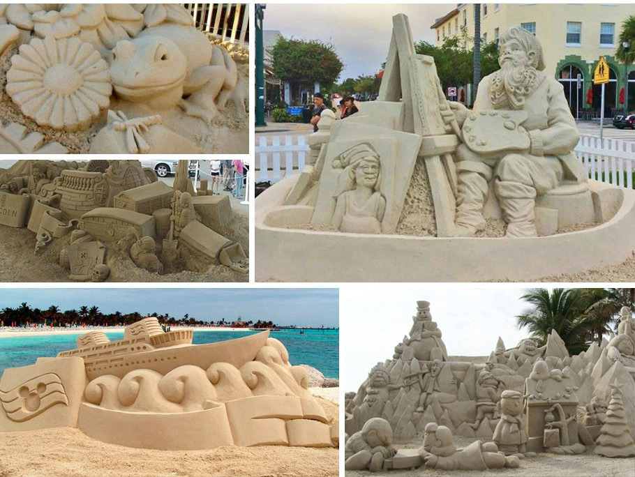 4 Tips for a Novice to Create Sand Sculptures Like a Pro