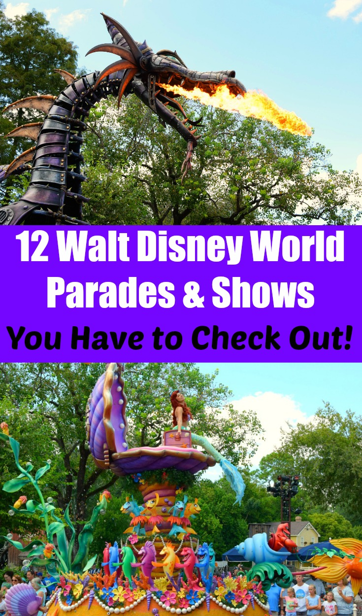 Walt Disney World Parades and Shows You Have to Check out!