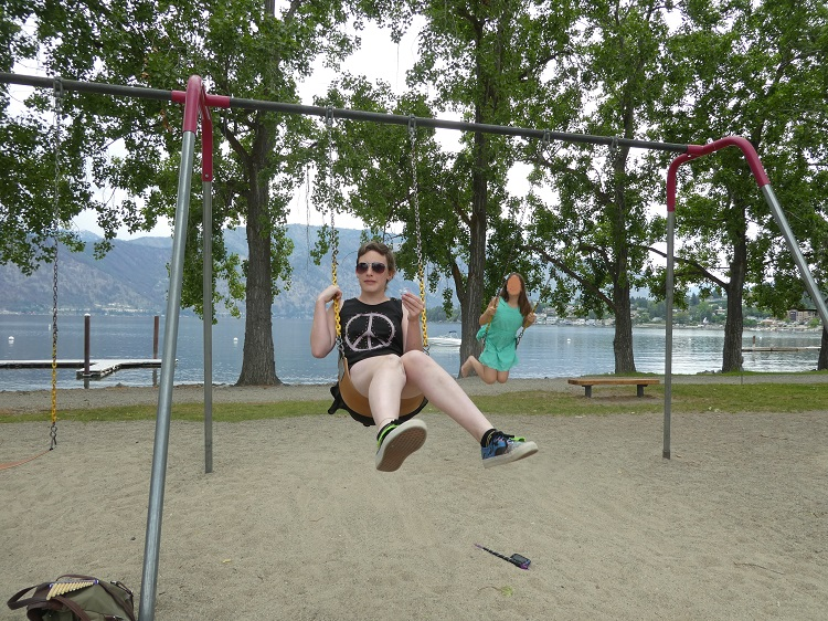 Playground at Wapato Point Resort on Lake Chelan, WA