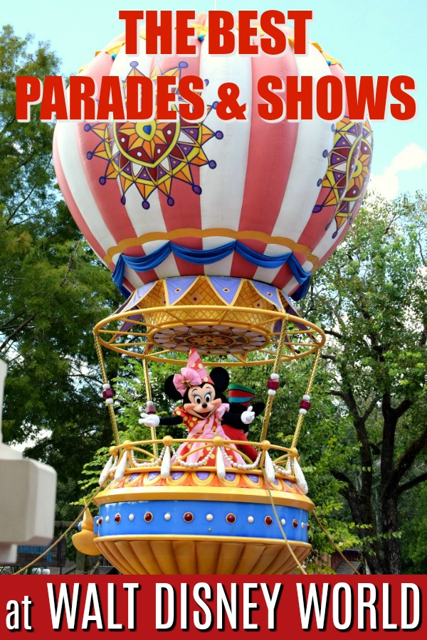 Headed to Walt Disney World and want the scoop on the best parades and shows to catch while you're there? Here's our 12 must-see parades and shows while visiting Walt Disney World! #Disney #WDW #Disneyworld #TMOM #DisneyParks