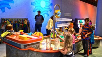 Children playing at Discovery Place Charlotte