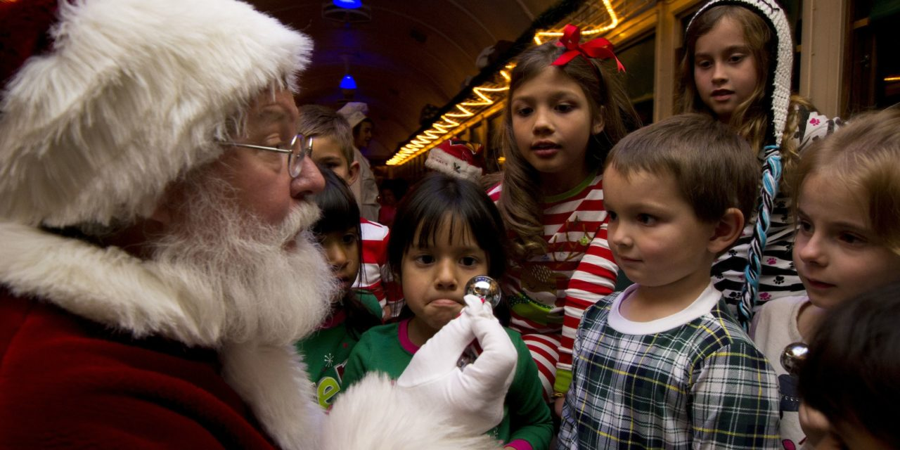 Williams AZ Polar Express Wows Kids and Parents (Wear your jammies!)