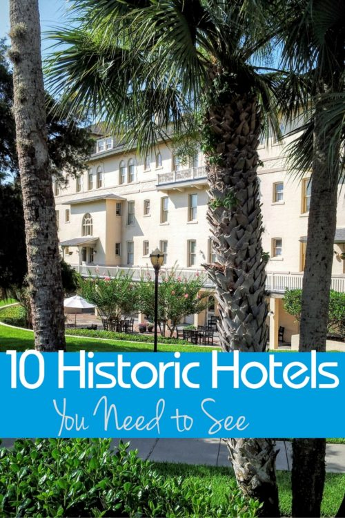 There are hundreds of historic hotels that work well for families too!