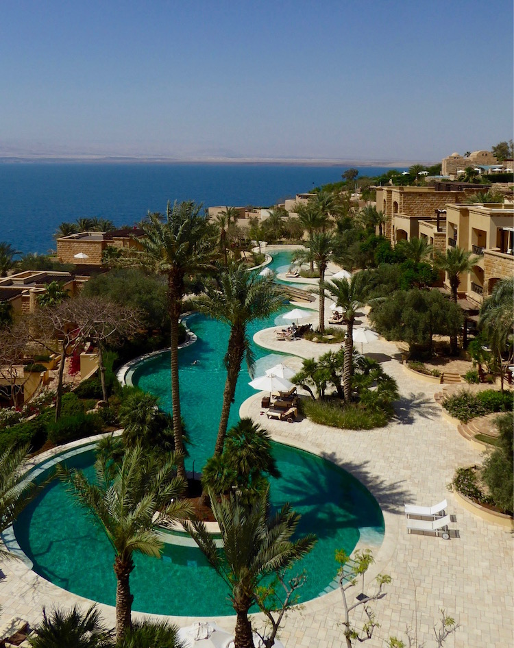 Dead Sea five star resort named Kempinski Ishtar