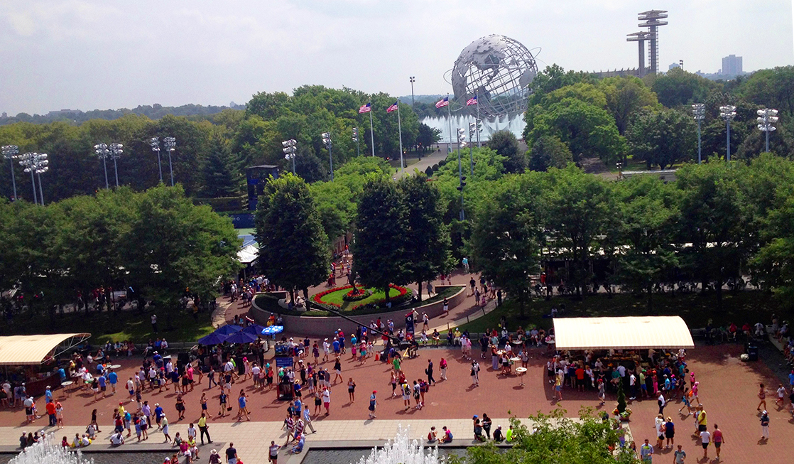 Tips for attending the US Open tennis tournament include how to navigate the grounds in Flushing Queens.