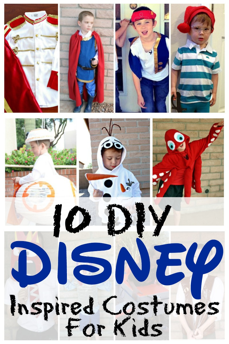 10 diy disney inspired costumes for kids - traveling mom