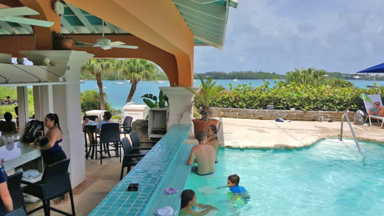 Grotto Bay Beach Resort, Bermuda - photo by Yvonne Jasinski Credit Card TravelingMom
