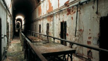 Eastern State Penitentiary Haunted Pennsylvania.