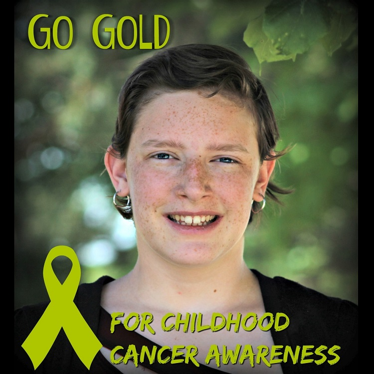 Hannah in 2016 after completing chemotherapy. Photo credit: Deb Steenhagen / TravelingMom with Daughters