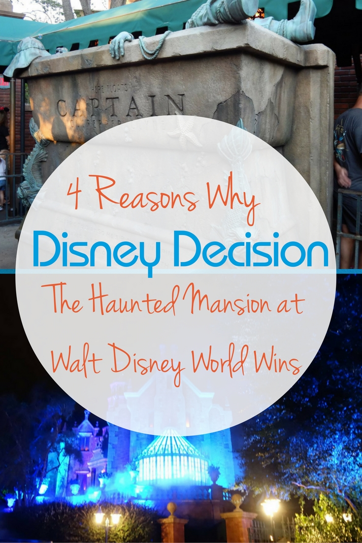 Vote for Walt Disney World's The Haunted Mansion!