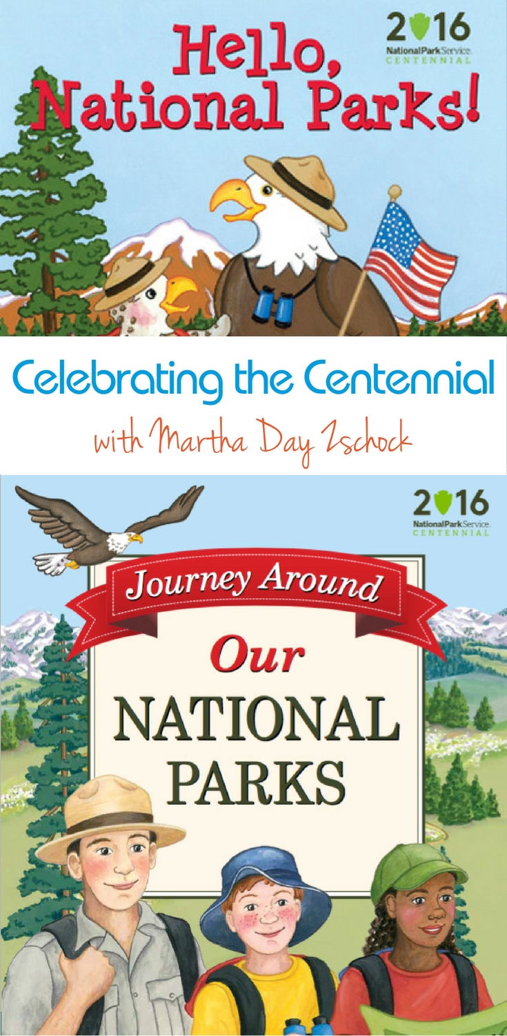 Share the National Park Centennial with your kids with Martha Day Zschock's newest books.