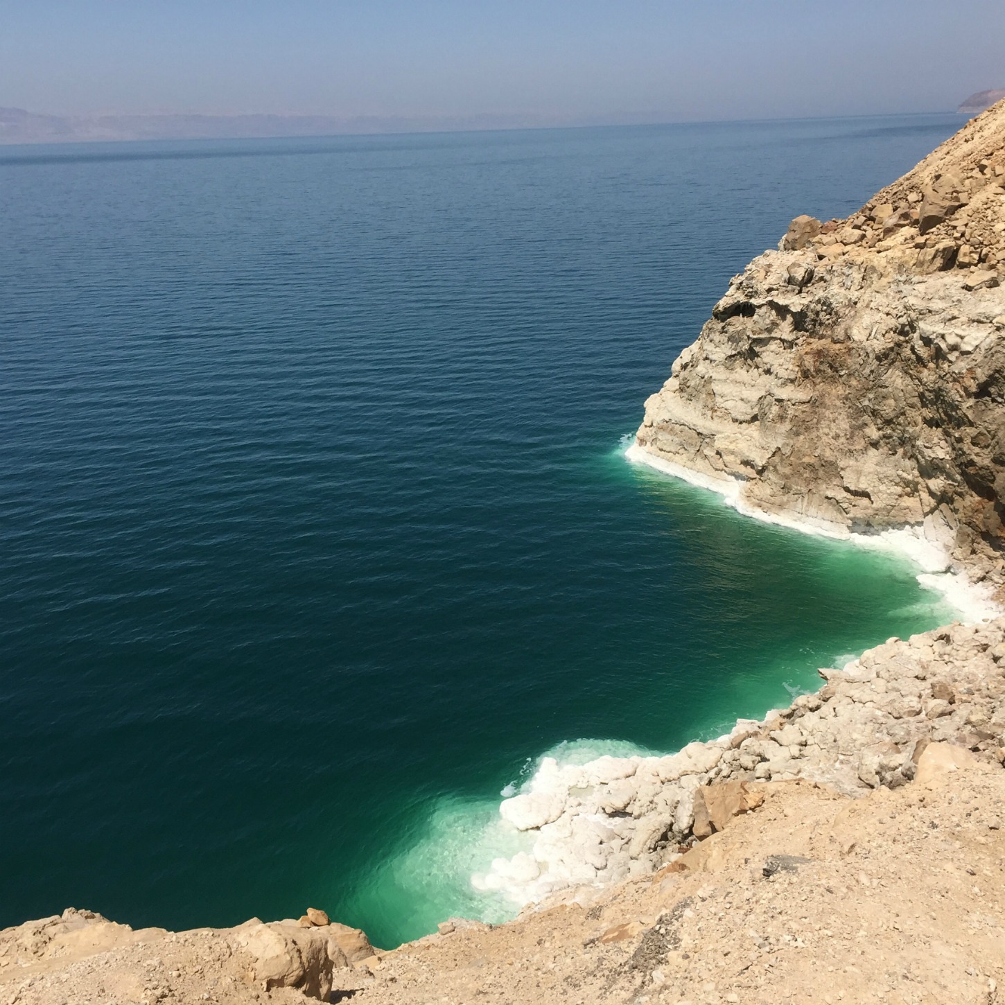 Beholding the Dead Sea in Jordan - immersive travel at its finest!