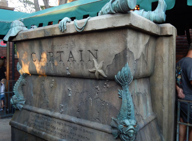 The interactive queue is one of the many reasons why The Haunted Mansion at Walt Disney World is so ghoulishly delightful that it beats the Disneyland counterpart. Photo by Karyn Locke, Road Trip TravelingMom.