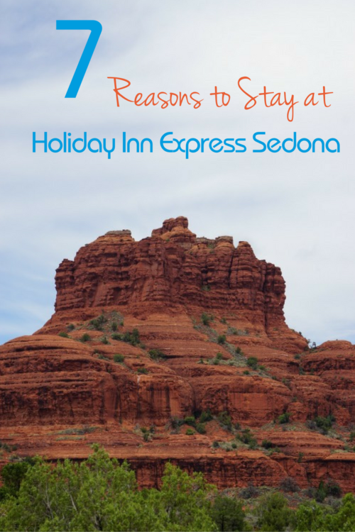 7 Reasons to Stay at the Holiday Inn Express Sedona, Photo by Multidimensional TravelingMom, Kristi Mehes.