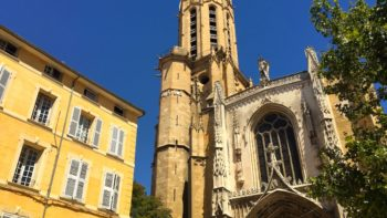 Church in Aix en Provence, France