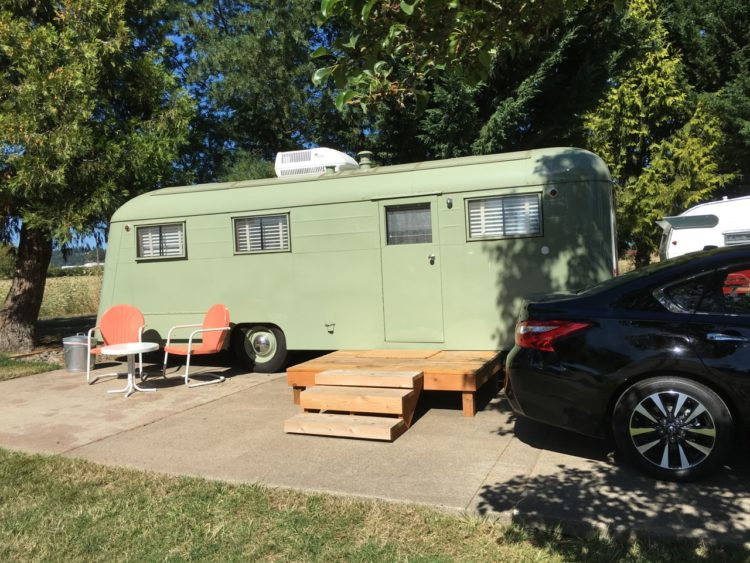 Do your family outdoor adventure right with airstream camping at Vintages Trailer Park in Dayton, Oregon!
