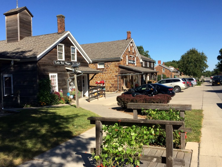 Amana Colonies shops on our Iowa Outdoors tour