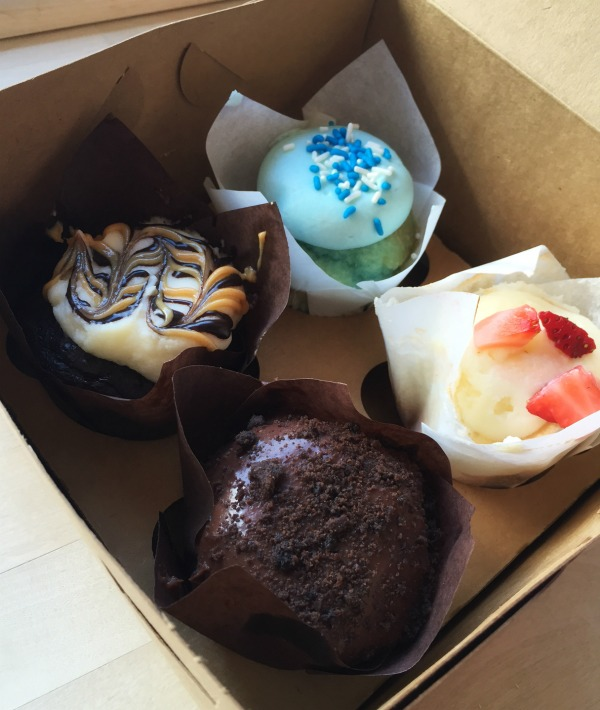 A sweet stop on the Iowa Outdoors tour, luscious cupcakes from Cedar Falls Scratch Cupcakery