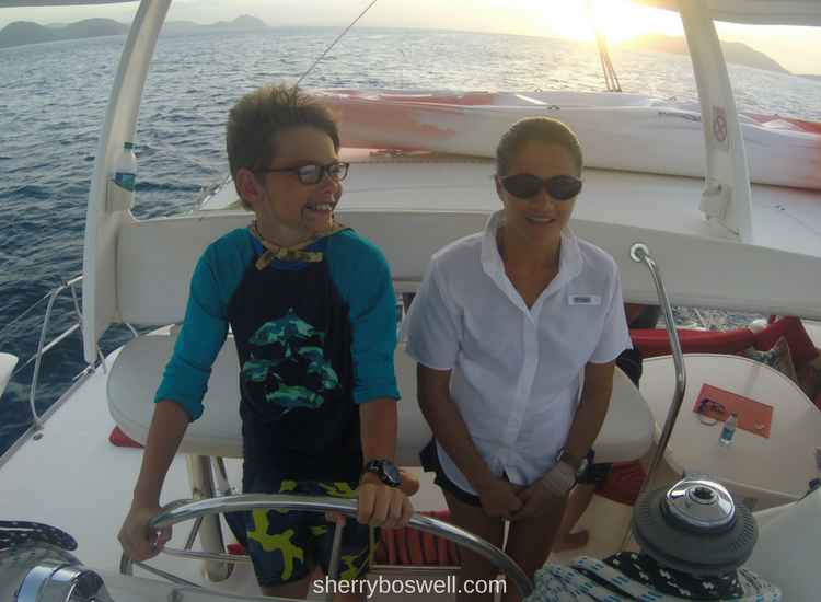 Set sail by chartering your own Caribbean catamaran with iYachtClub. Our TravelingMom shares her family's experience and offers insider tips!
