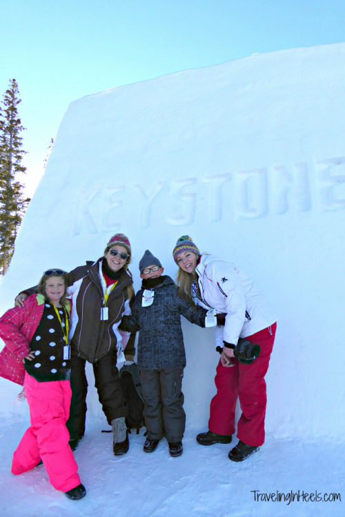 A stay in a ski condo is convenient to the slopes when taking our multigeneratonal family to the Colorado ski resorts including Keystone