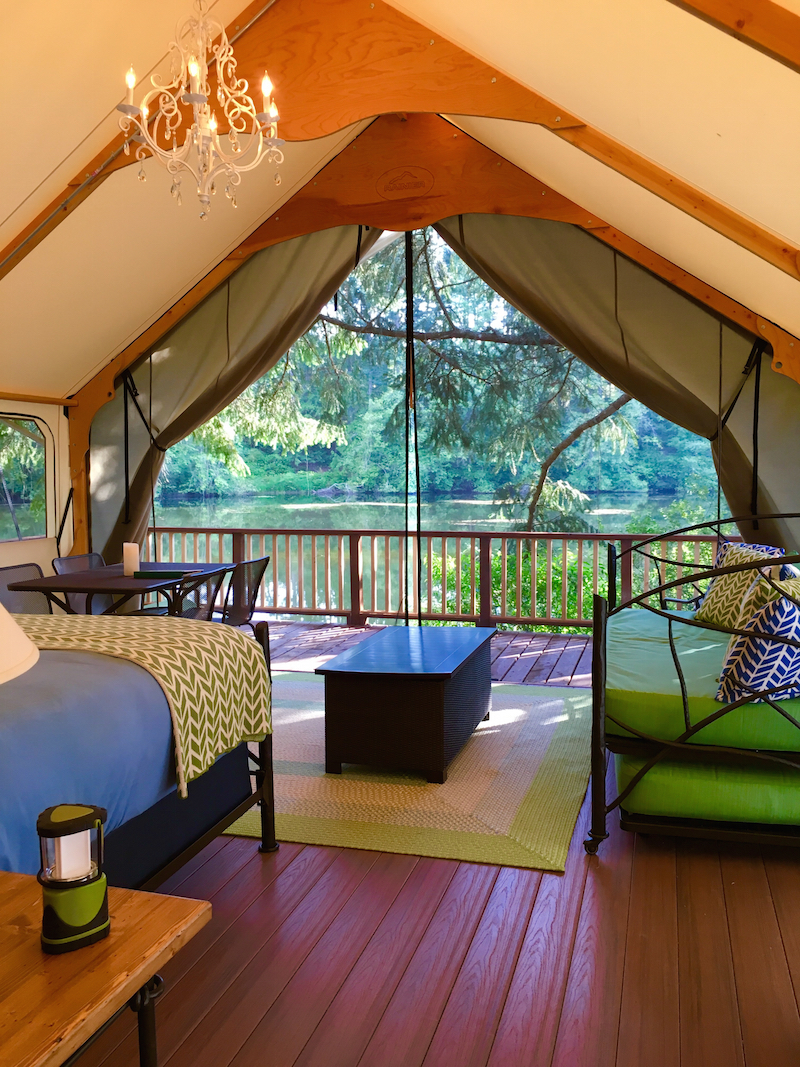 Lakedale Resort, glamping on San Juan Island, best places to camp, Washington cabins,