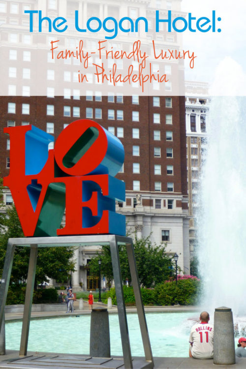 Going to Philly with the family? The Logan Hotel is steps away from the city's great museums.