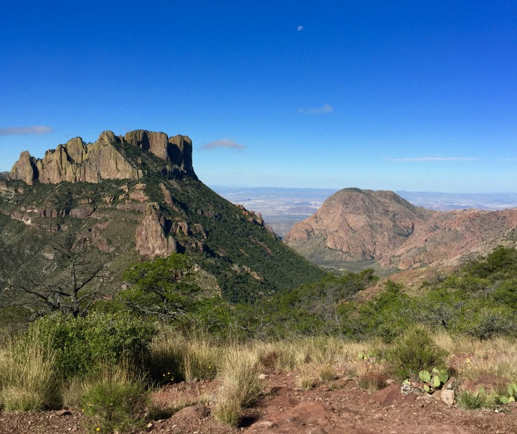 Views from the Lost Mine Trail in Big Bend National Park