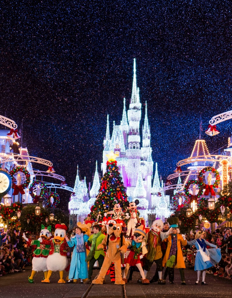 Holiday experiences at Walt Disney World