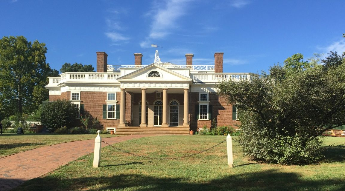 The House Tour of Monticello in Charlottesville, Virginia Gives Teens a Touchstone to the Past