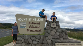 Mount St. Helens National Volcanic Monument, Mt. St. Helens for kids,