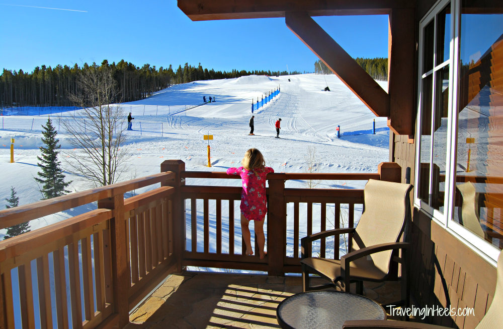 Why a condo is key to a successful family ski vacation? Location, convenience, and the view at One Ski Hill Place, Breckenridge.