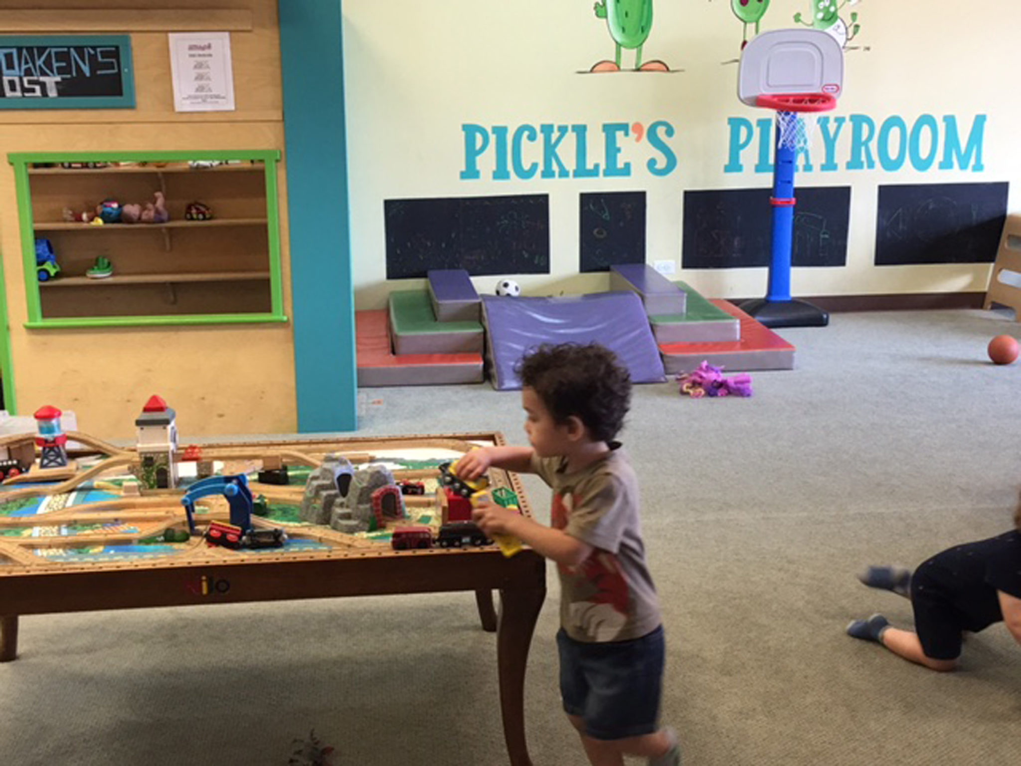 Pickle's Playroom sponsors LGBT family events like the 2016 Family Pride Fest! Photo credit Theresa Volpe