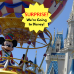 Surprise Disney Vacation - TravelingMom