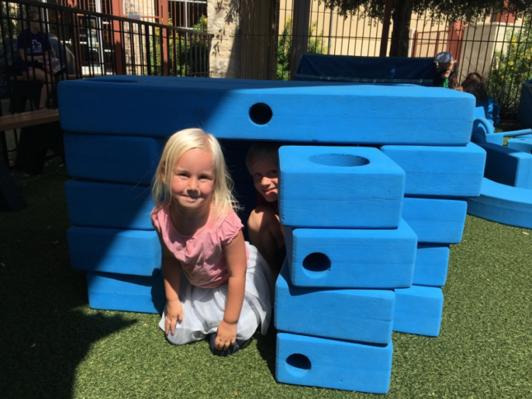 Imagination Playground; photo by Big Family TravelingMom, Heidi Gollub