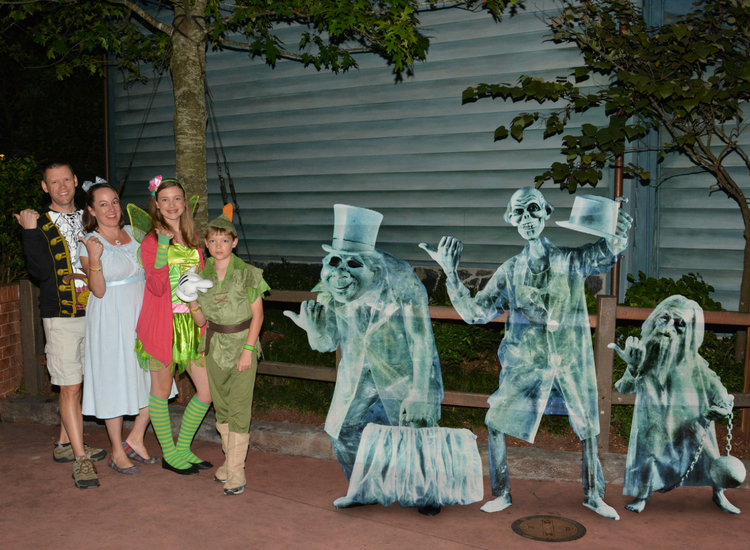 The Haunted Mansion Walt Disney World special effects