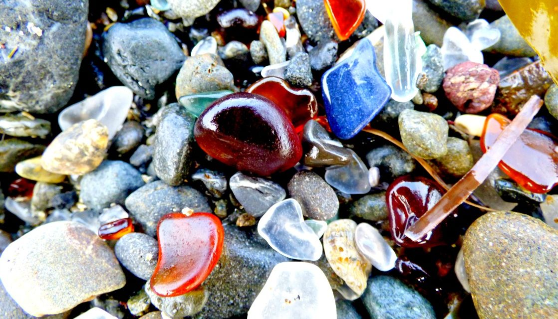 Exploring Glass Beach in Fort Bragg, California