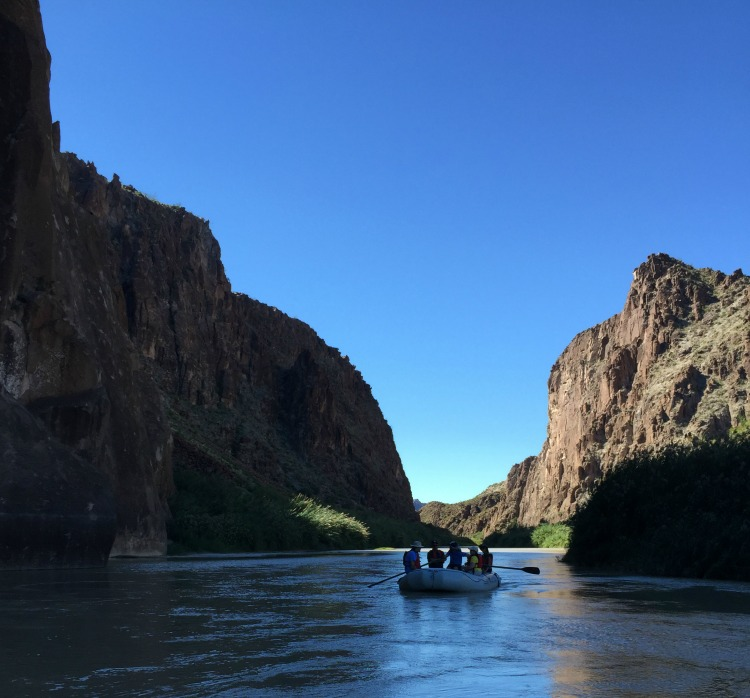Big Bend - River float trip on the Rio Grande