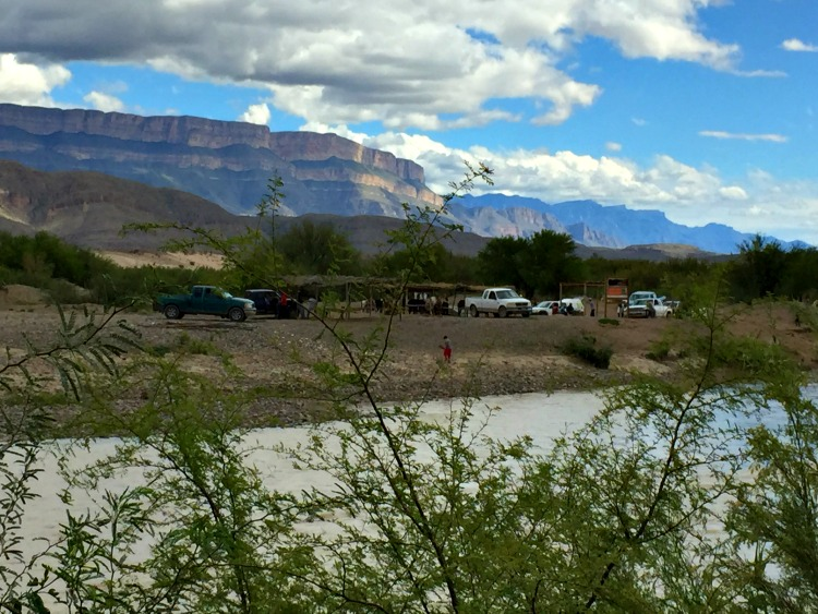 Big Bend - That's Mexico across the Rio Grande