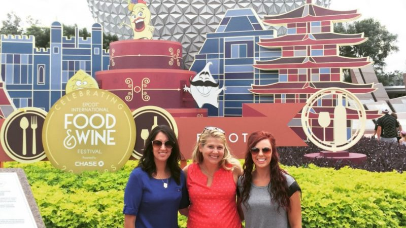 Epcot with friends