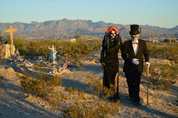 Big Bend - Day of the Dead in the Ghost Town of Terlingua