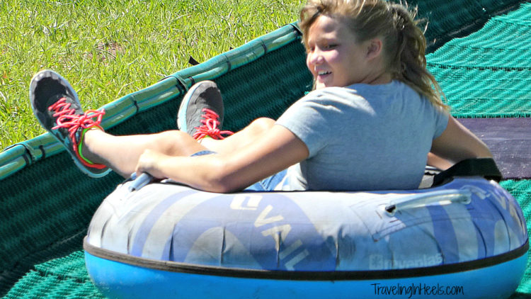 Go Zoom down the summer tubing hill at Vail Epic Discovery in Colorado
