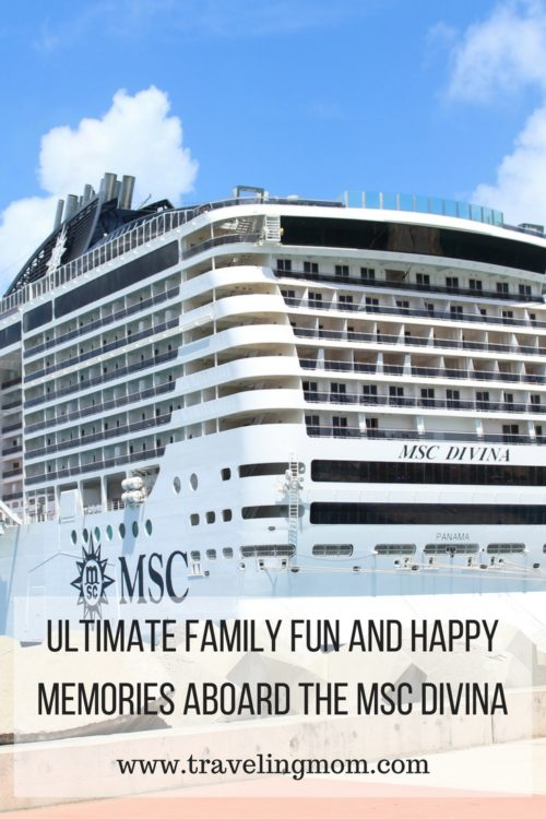 Family Fun Aboard the MSC Divina