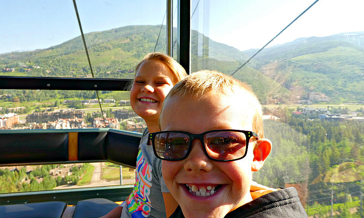 Your Vail Epic Discovery adventure begins on the scenic gondola ride to the top