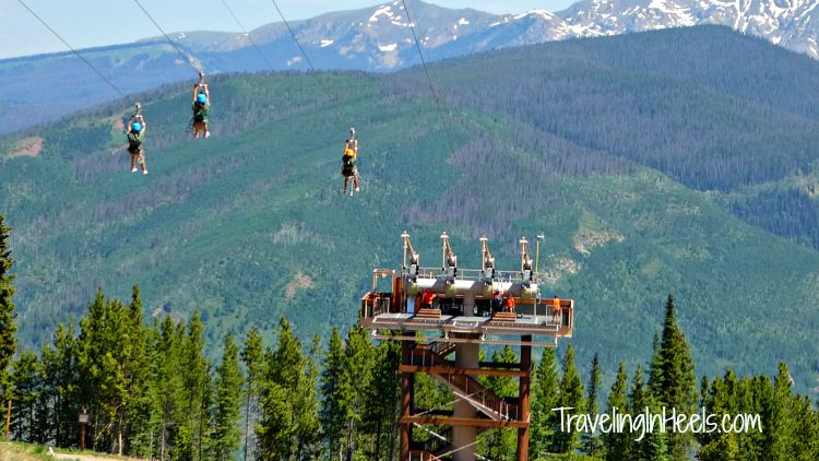 Our family LOVES ziplining, and you will to when zipping through the Colorado Rockies at Vail Epic Discovery's zipline.