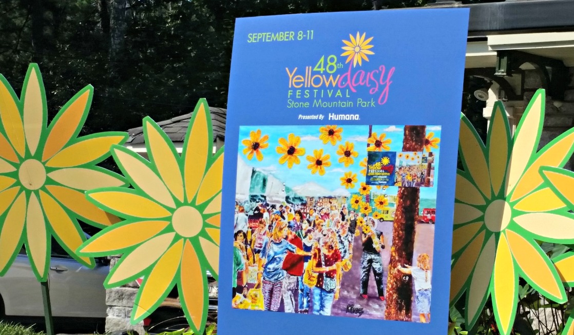 The Yellow Daisy Festival at Stone Mountain Park is a fun way to welcome the coming autumn. Here's why you'll make this Atlanta festival a family tradition!