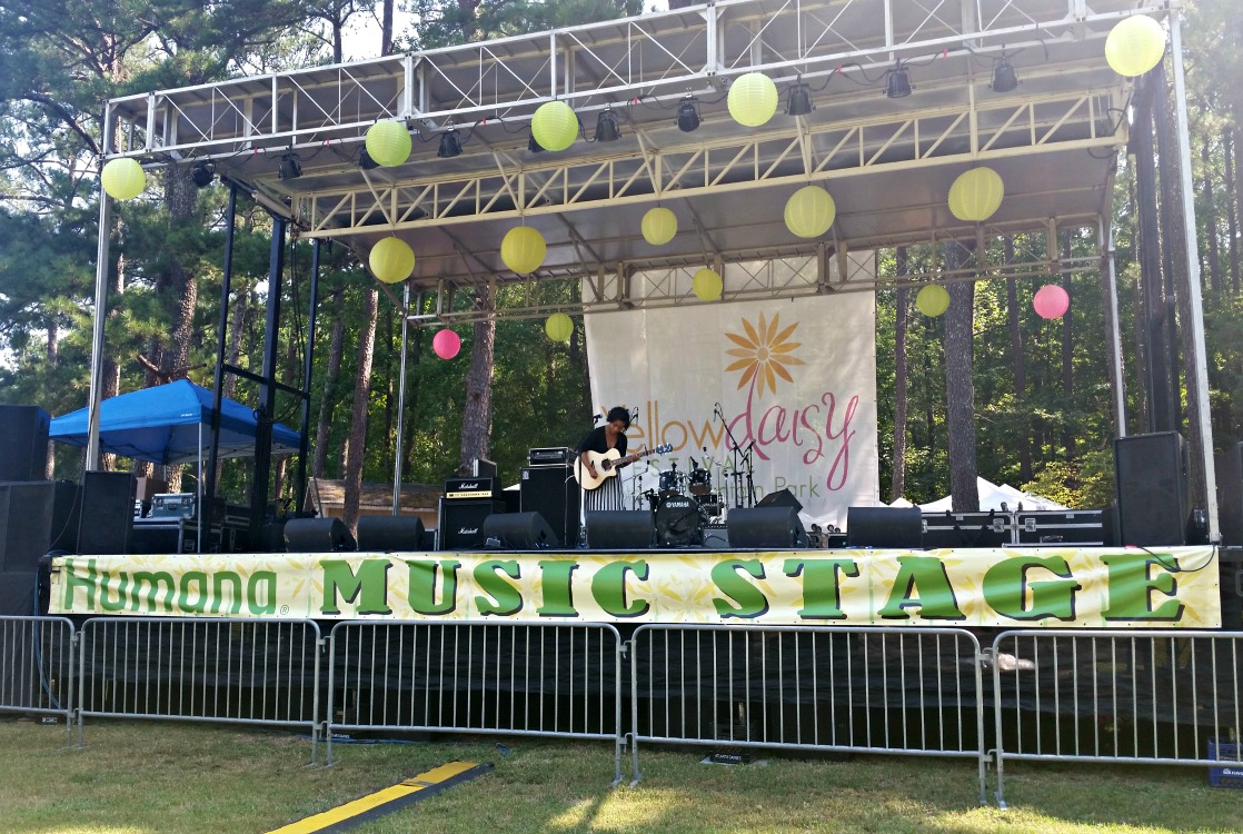 Take a shopping break and discover new favorite performers at the Yellow Daisy Festival!