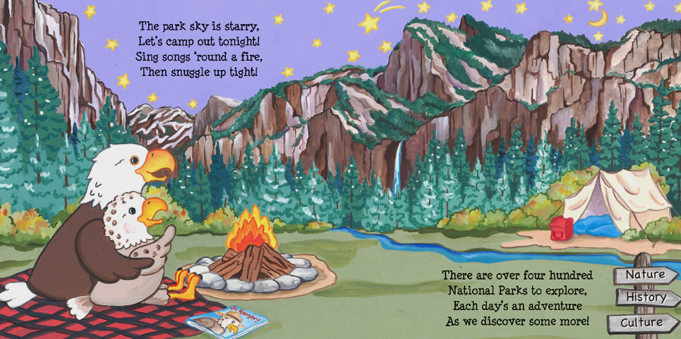Hello National Parks, Martha Day Zschock, books about national parks for kids,