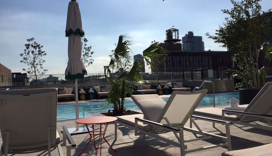 NYC Hotel Room with a View: The William Vale Hotel